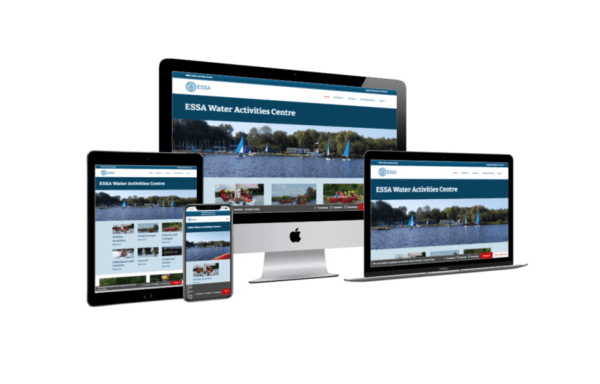 Home page for ESSA Water Activities Centre
